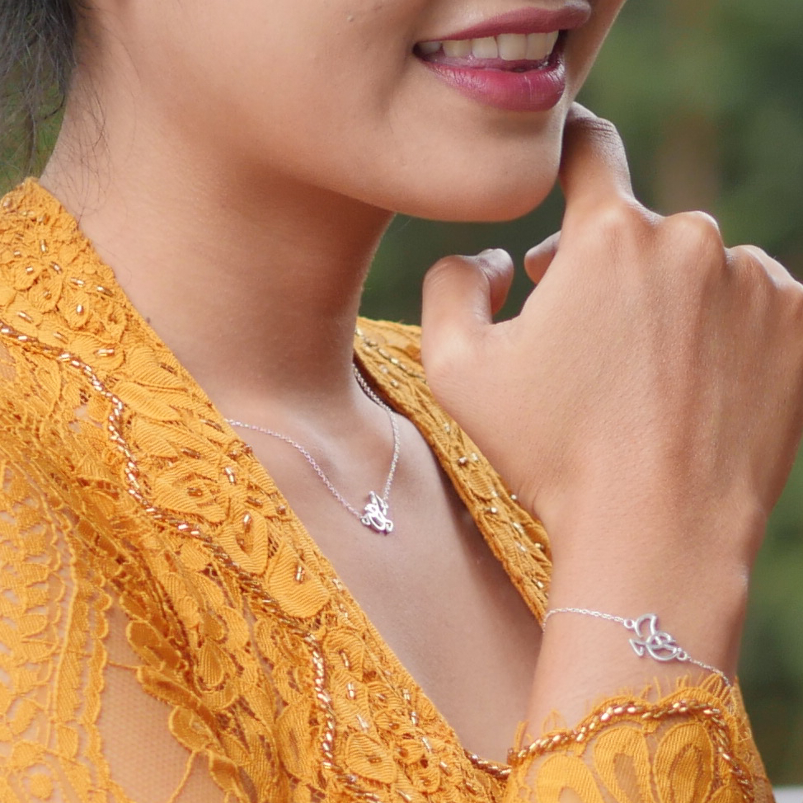 Every piece of jewelry of the Forever Label is handmade with 925 Sterling silver.