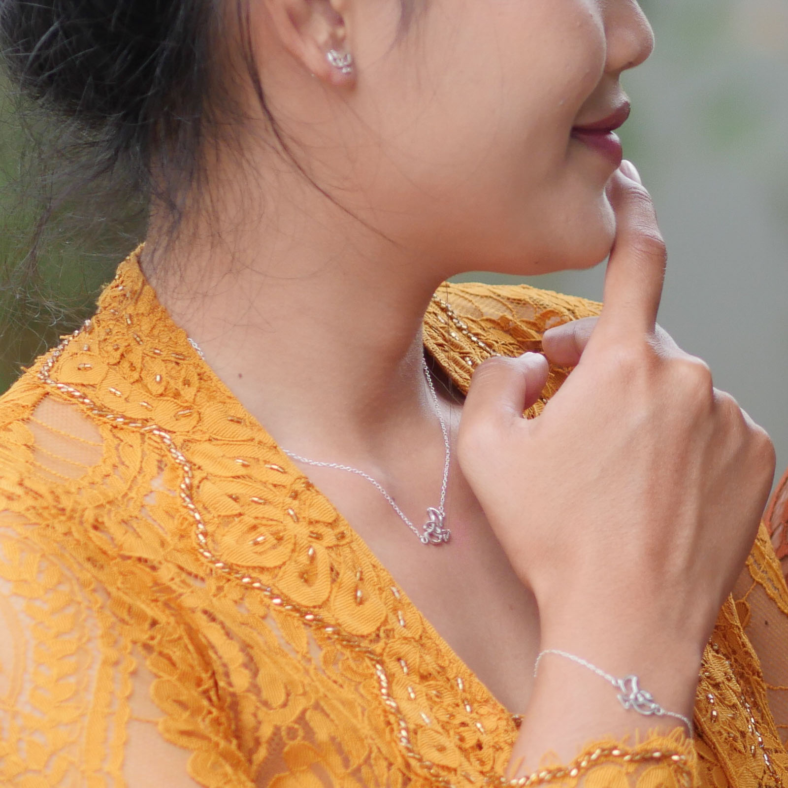 Forever Label. The silver jewellery line is produced in Bali, Indonesia.
