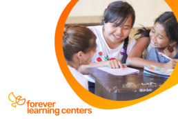 Our Forever Learning Centers are supported by our Forever Community. We welcome international volunteers, fundraisers are held and contributors commit their time and skills towards the center.